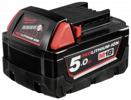 Milwaukee M18B5 18V/5.0 Ah Li-Ion Battery