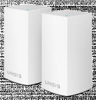 Linksys Velop VLP0102 AC2400 WiFi systém (2 jednotky), bílá