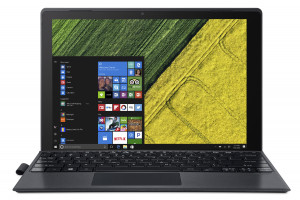 """Acer Switch One 10 (SW512-52-543B) Core i5-7200U/ 8GB/256GB/12"""" QHD 2160x1440 IPS Multi-touch LCD /HD Graphics /W10 Hom"""