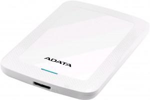 ADATA HV300 - 1TB, externí pevný disk, bílá