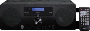 Lenco DAR-060 přenosný stereofonní systém Digitální 20 W, černá