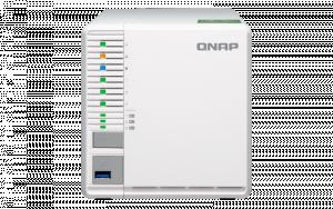 QNAP TS-332X-2G (1,7Ghz / 2GB RAM / 3xSATA / 3x M.2 SSD slot)