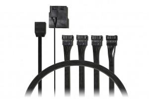 EVOLVEO A2 5V, kabel pro připojení RGB Rainbow ventilátorů a pásků