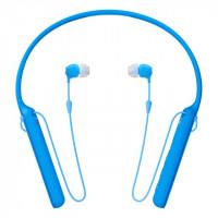 SONY sluchátka WIC400L.CE7 bezdr.,modrá