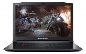 """Acer PREDATOR Helios 300 - 17, 3""""/ i7-8750H/ 8G/ 512SSD/ GTX1050Ti/ 144Hz/ W10 černý"""
