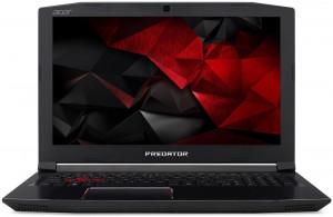 """Acer PREDATOR Helios 300 - 15, 6""""/ i7-8750H/ 2*8G/ 256SSD+1TB/ GTX1060/ 144Hz/ W10 černý"""