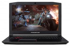 """Acer PREDATOR Helios 300 - 15, 6""""/ i7-8750H/ 8G/ 1TB+16OPT/ GTX1060/ 144Hz/ W10 černý"""