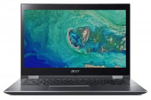 "Acer Spin 3 - 14T""/i3-8130U/4G/1TB+16OPT/W10 šedý"