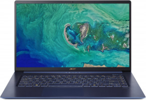 """Acer Swift 5 - 15, 6T""""/i7-8565U/16G/2*512SSD/W10 modrý"""