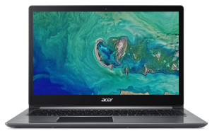 """Acer Swift 3 - 15, 6""""/ R5-2500U/ 8G/ 128SSD+1TB/ RX540/ W10 šedý"""