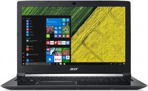 """Acer Aspire 7 - 17, 3""""/ i5-8300H/ 8G/ 1TB+16OPT/ GTX1050/ W10 černý"""