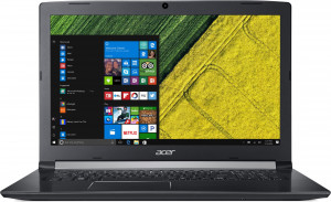 "Acer Aspire 5 - 17, 3""/ i3-8130U/ 2*4G/ 256SSD/ MX150/ DVD/ W10Pro černý"