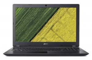 """Acer Aspire 3 - 15, 6""""/i3-7020U/4G/128SSD+1TB/W10 černý"""