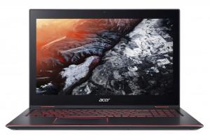 "Acer Nitro 5 Spin - 15, 6T""/ i7-8550U/ 16G/ 512SSD+2TB/ GTX1050/ W10 černý"