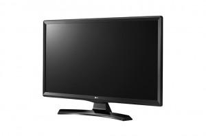 "24"" LG LED 24MT49S-PZ - HD Ready, 16:9, HDMI, USB, DVB-T2 / C / S2, Wi-Fi, černá"
