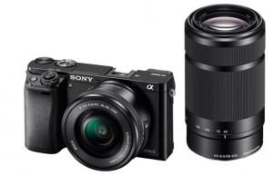 Sony A6000Y, 16-50+55-210mm, 24,3Mpix, černý (ILCE6000YB.CEC)