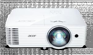 Acer DLP S1286Hn (ShortThrow) - 3500Lm, XGA, 20000:1, HDMI, VGA, USB, RJ45, repro., bílý