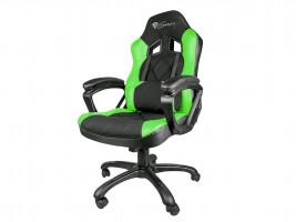 Herní židle NATEC Genesis Nitro 330, černá/zelená