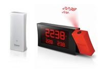Oregon RMR221P - PRYSMA R - hodiny s projekcí červené