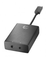 HP USB-C to 3 and 4.5mm Adapter (N2Z65AA#AC3)