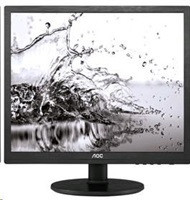"AOC MT IPS LCD 19"" i960Srda, IPS panel, 1280x1024, 5:4, 5ms, 20M:1, 250cd/m, D-Sub, DVI-D, repro"