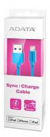 ADATA Sync and Charge Lightning Cable, USB, MFi