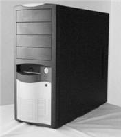 EUROCASE ML5410 450W PFC, 12cm fan, black/silver