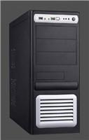 EUROCASE ML5435 450W PFC black/silver, USB, audio, PCIe, 12cm fan