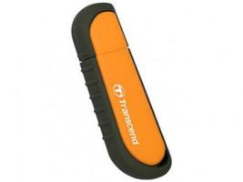 Transcend Jetflash V70 Rugged flashdisk 8GB USB 2.0, gumový, oranžový, 15/7MB/s (TS8GJFV70)