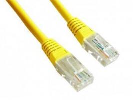 Gembird Patch kabel RJ45, cat. 5e, UTP, 3m, žlutý (PP12-3M/Y)