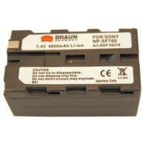 BRAUN akumulátor - SONY L NP-F750