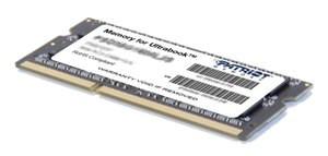 Patriot SO-DIMM DDR3 4GB, Ultrabook série PC3-10600 1333MHz CL9 1,35V