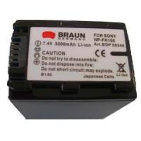 BRAUN akumulátor - SONY NP-FH90,100 (59348)