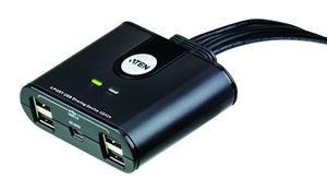 ATEN USB 2.0 Přepínač periferií 4:4 (US-424)