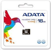 ADATA 16GB MicroSDHC Card s Adaptor Class 4 (AUSDH16GCL4-RA1)
