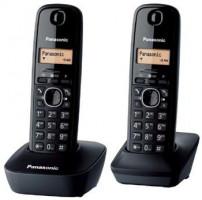 Panasonic KX-TG1612FXH, bezdrát. telefon, 2 sluchátka (5 025 232 621 798)