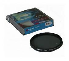 BRAUN C-PL polarizační filtr StarLine - 58 mm (14242)