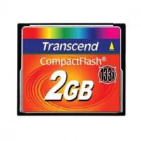 Transcend Compact Flash karta 2GB vysokorychlostní 133x