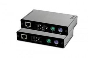 Digitus KVM Extender PS/2, 1 Local+1 Rem, až 180m, 1280X1024 (DC-51102)