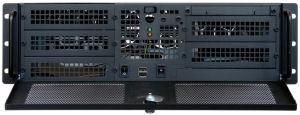 "CHIEFTEC rack 19"" 3U UNC-310RS-B 400W, černý"