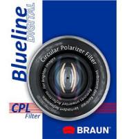 BRAUN C-PL polarizační filtr BlueLine - 55 mm (14176)