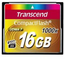 Transcend Compact Flash karta 16GB 1000x, pro průmysl. využití