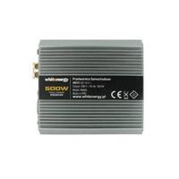 Napěťový měnič DC/AC 24V/230V 500W, 2 zásuvky AC (06584)