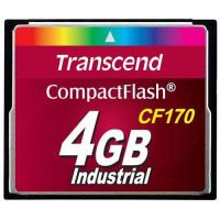 Transcend Compact Flash 4GB vysokorychlostní CF170