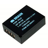 BRAUN akumulátor - FUJI NP-W126 (59441)