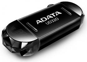 ADATA USB UD320 32GB, OTG černá (AUD320-32G-RBK)