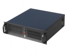 """Gembird 19"""" serverové šasi ATX 19""""/3U, černé"""
