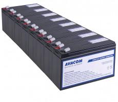 Bateriový kit AVACOM AVA-RBC27-KIT náhrada pro renovaci RBC27 (8ks baterií)