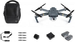 DJI kvadrokoptéra - dron, Mavic Pro Fly More Combo, 4K Full HD kamera (DJIM0250C)
