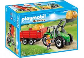 Playmobil 6130 Traktor s přívěsem